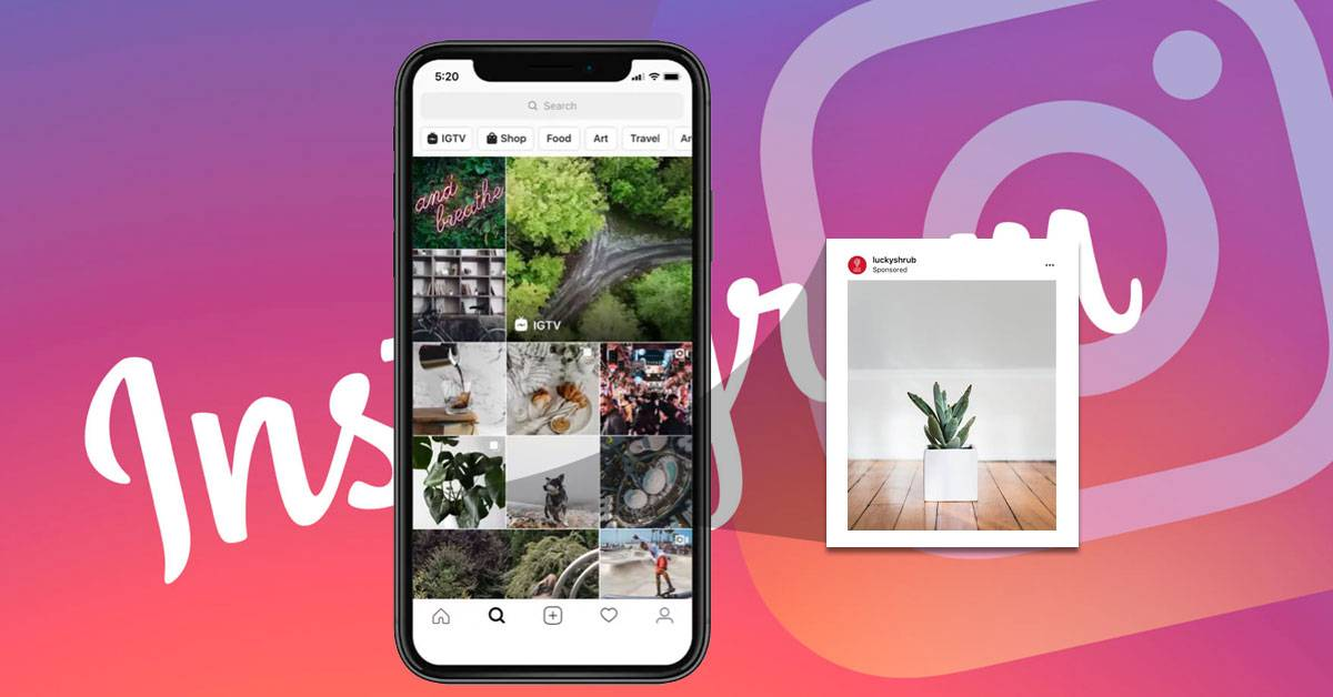 Instagram to Launch Ads in the Explore Tab